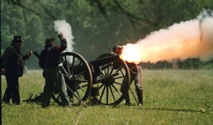 Civil War Battle Reenactment