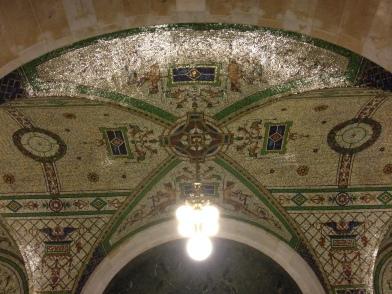 Birch Bayh Federal Building Tiled Ceiling