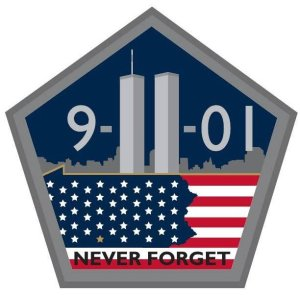 9-11 Never Forget Pentagon
